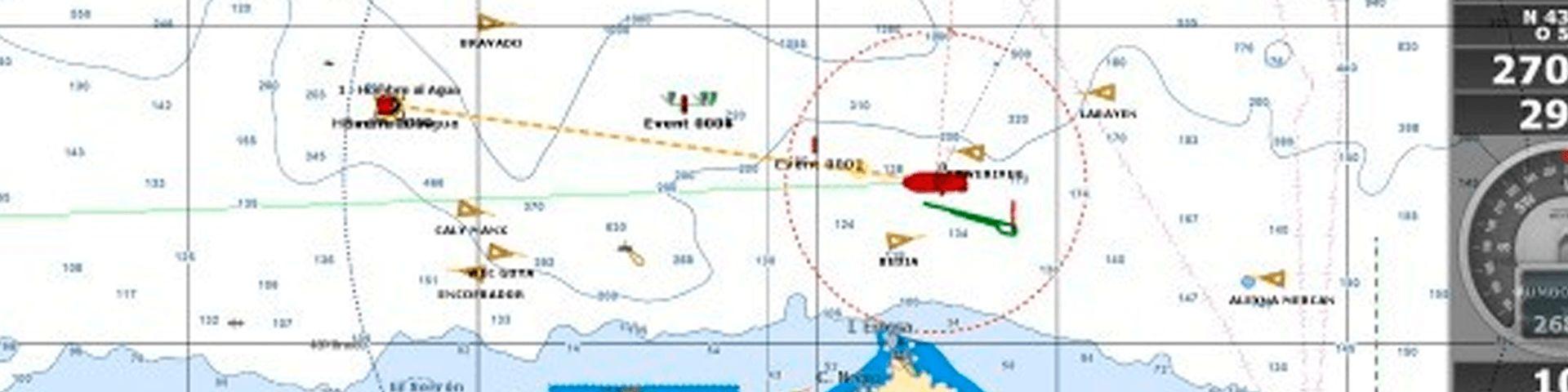 Cartas náuticas electrónicas
