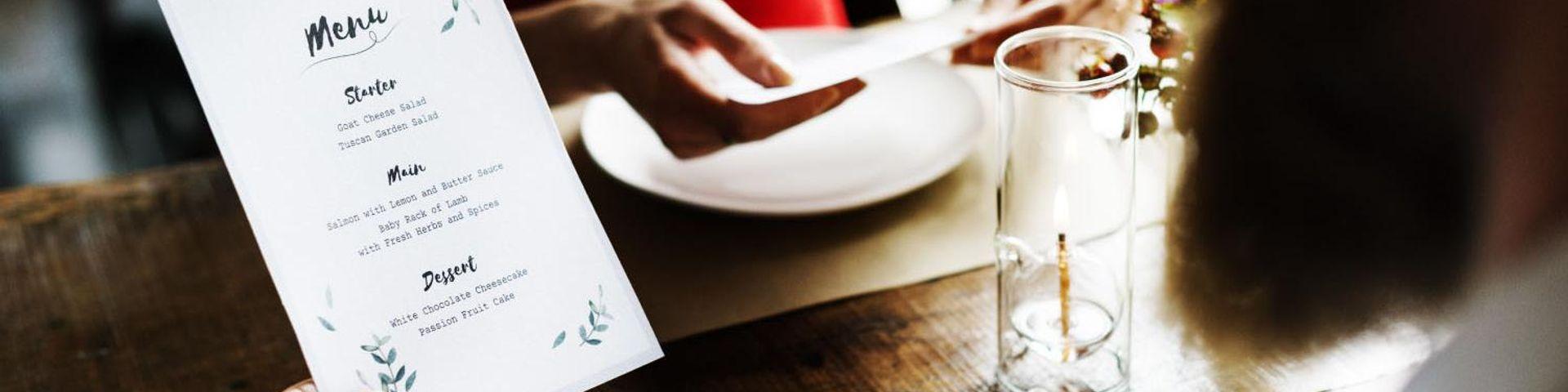 Diseño y Elaboración de Cartas y Menús